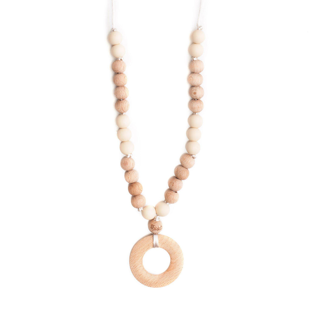 Bella Tunno, Accessories,  Bella Tunno Vancouver Cream Teething Necklace