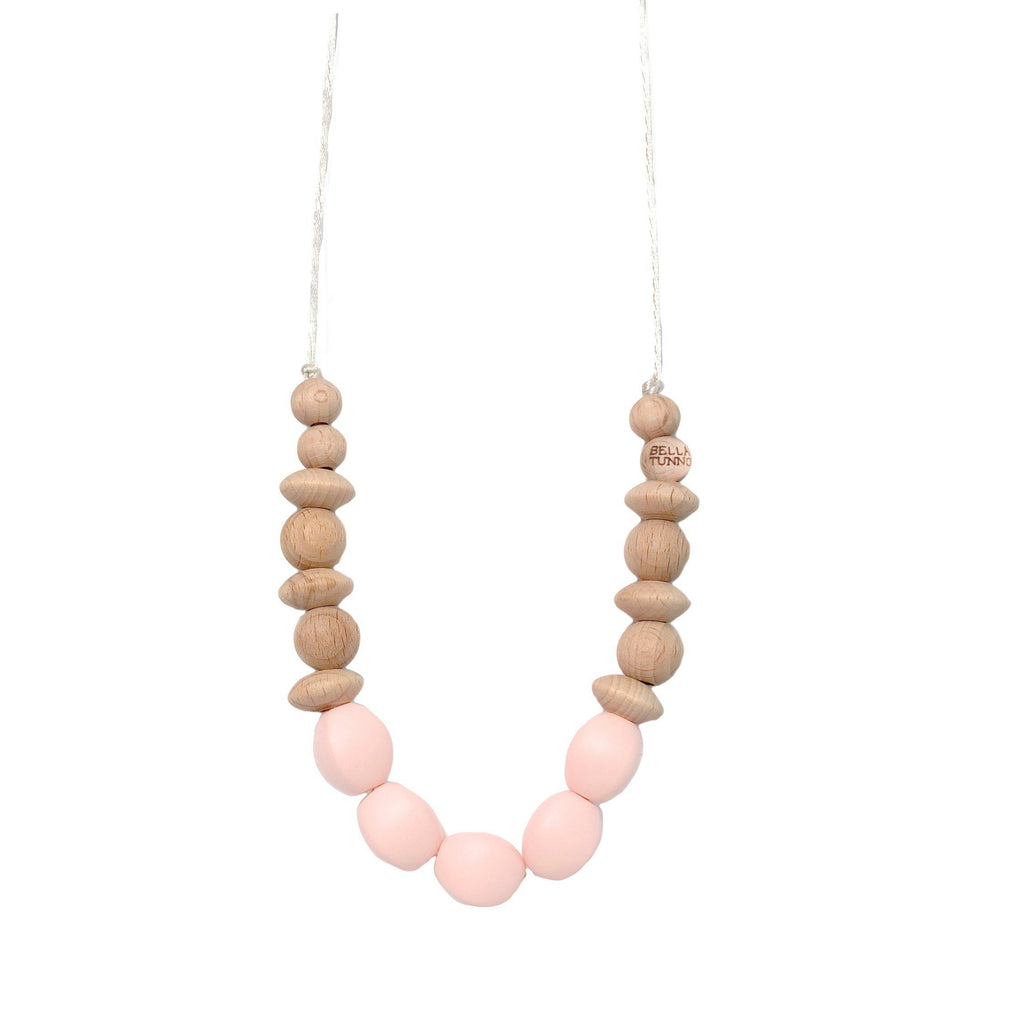Bella Tunno, Accessories,  Pasadena Pink Teething Necklace