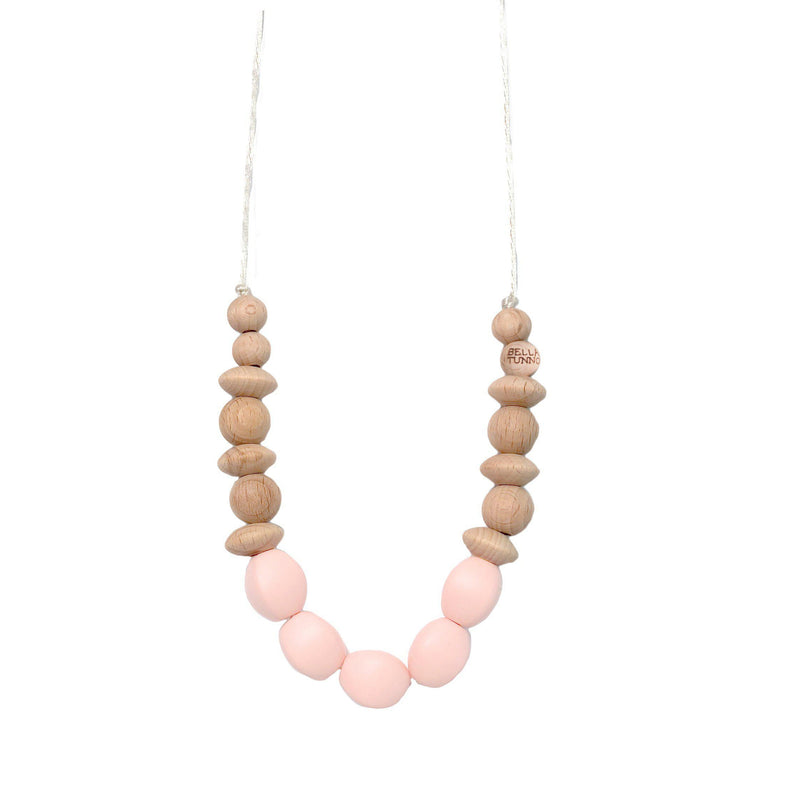 Pasadena Pink Teething Necklace-Accessories-Bella Tunno-Eden Lifestyle