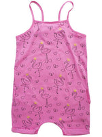 Frankie & Sue, Baby Girl Apparel - Rompers,  Georgia Baby Jumper - Watermelon Flamingo