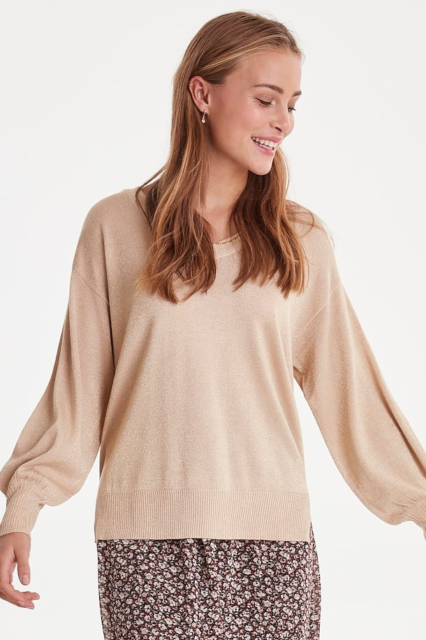 Gold Knit Pullover