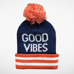 Good Vibes Beanie-Accessories - Hats-Tiny Whales-Eden Lifestyle