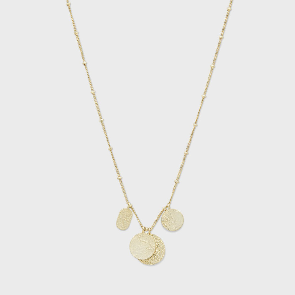 Gorjana, Accessories - Jewelry,  Gorjana - Banks Mixed Coin Necklace