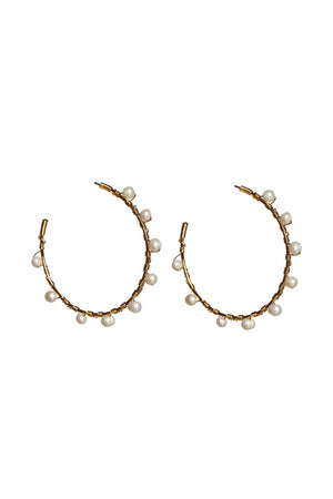 Eden Lifestyle, Accessories - Jewelry,  Guapo Pearl Earrings