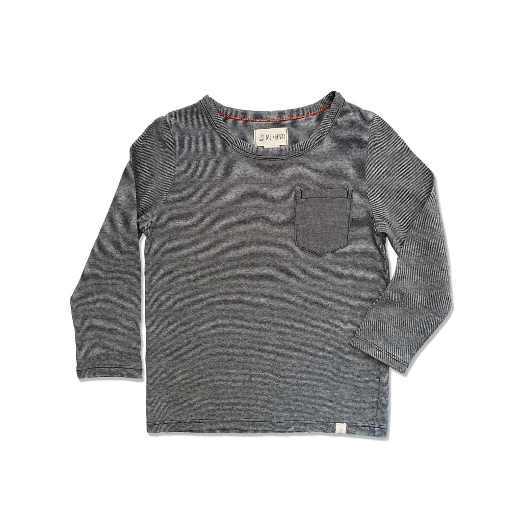 Striped Tee-Tees-Me & Henry-2-3Y-Eden Lifestyle