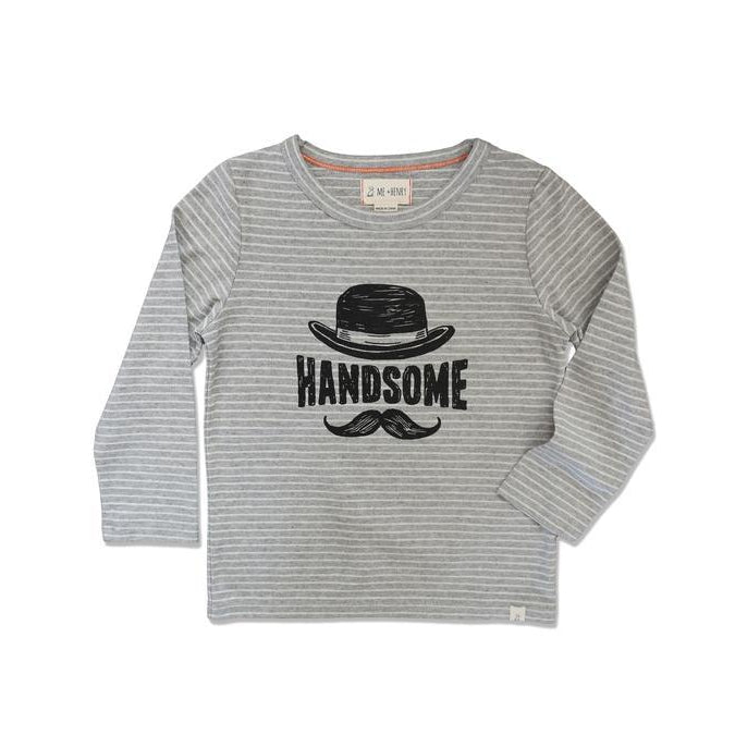 Me & Henry | Handsome Striped Tee-Boy - Tees-Me & Henry-2-3Y-Eden Lifestyle