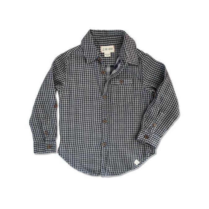 Me & Henry | Plaid Woven Shirt-Boy - Shirts-Me & Henry-2/3Y-Eden Lifestyle