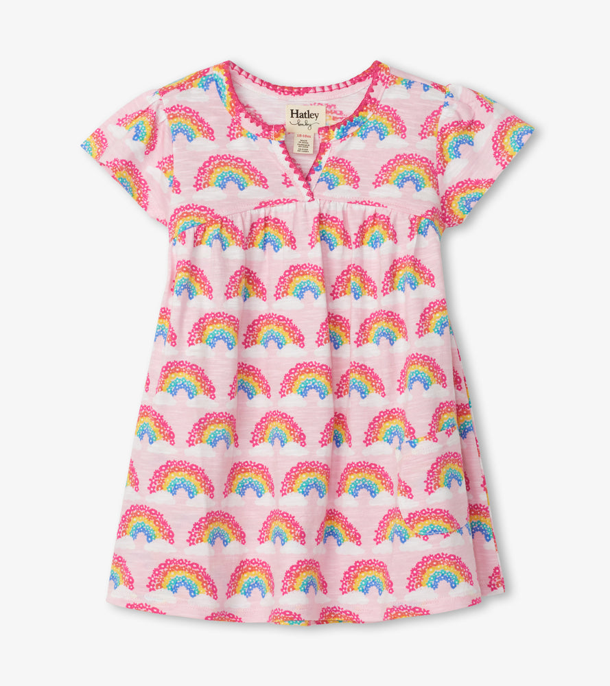 Hatley, Baby Girl Apparel - Dresses,  Hatley Magical Rainbows Baby Puff Dress