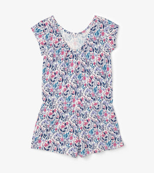 Hatley, Girl - Rompers,  Hatley Spring Wildflowers Faux Dress Romper