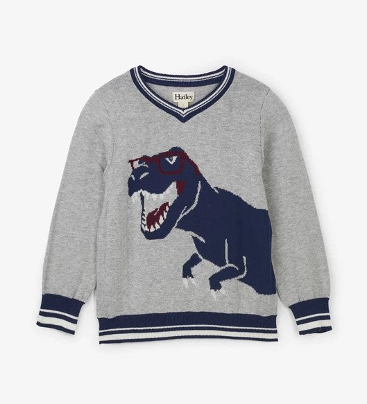 Hatley - Cool Rex V-Neck Sweater