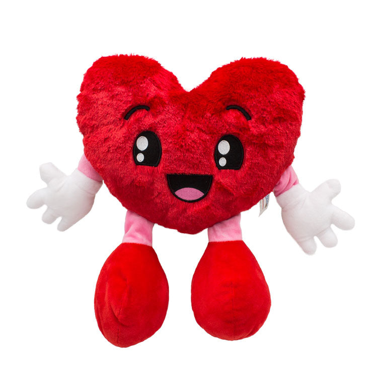 "Sweetheart 10 Inch Heart Plush €"" Strawberry-Gifts - Kids Misc-Scentco-Eden Lifestyle"