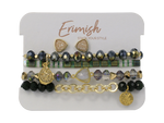 Erimish Holiday Druzy Set