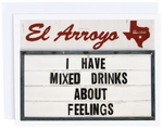 El Arroyo Mixed Drinks Card