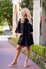 J. Marie Audrey Long Sleeve Dress