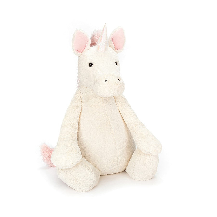 Jellycat Bashful Unicorn - Medium-Gifts - Stuffed Animals-Jellycat-Eden Lifestyle