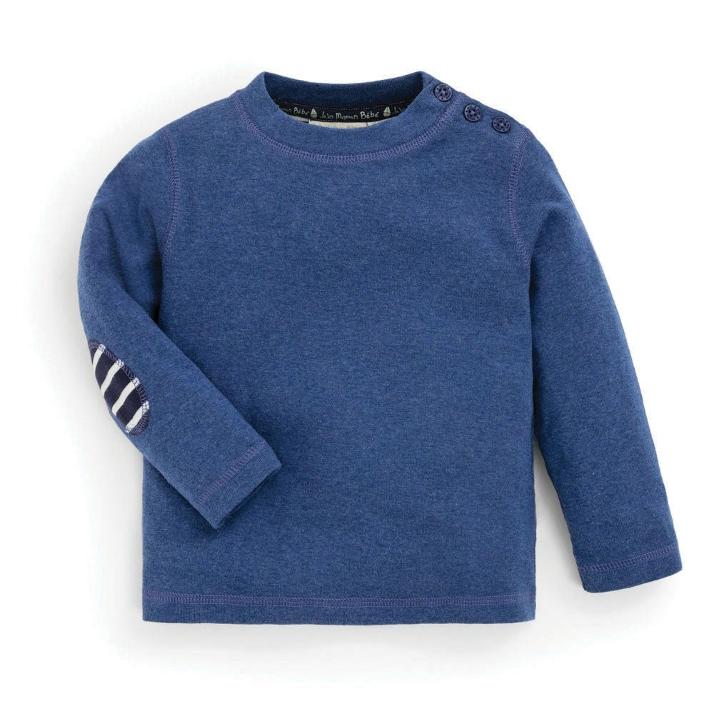 Jojo Maman Bebe Boys' Denim Long Sleeve Top