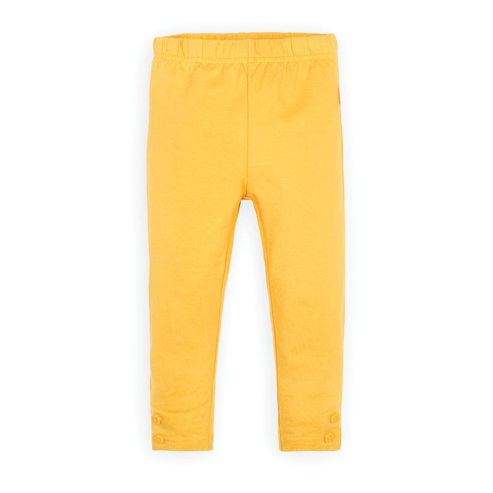 Jojo Maman Bebe Girls' Mustard Leggings