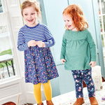 Jojo Maman Bebe, Girl - Dresses,  Jojo Maman Bebe Girls' Navy Pocket Friends Dress