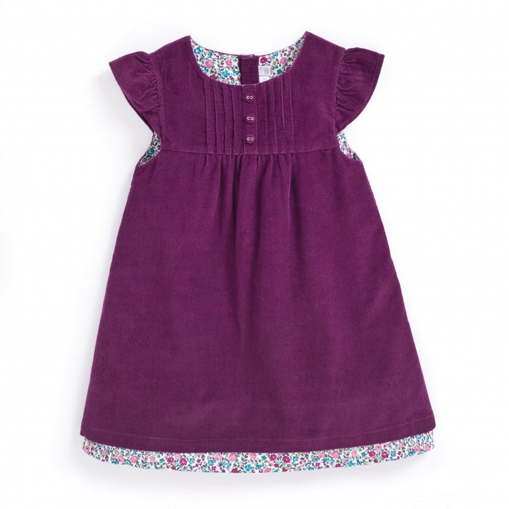 Jojo Maman Bebe Baby Girls' Pretty Cord Dress