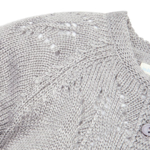 Jojo Maman Bebe, Girl - Outerwear,  Jojo Maman Bebe Girls' Pretty Pointelle Cardigan