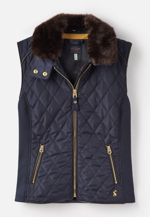 Joules, Girl - Outerwear,  Joules Inverness Quilted Vest