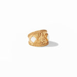 Julie Vos, Accessories - Jewelry,  Julie Vos - Bee Crest Ring Gold