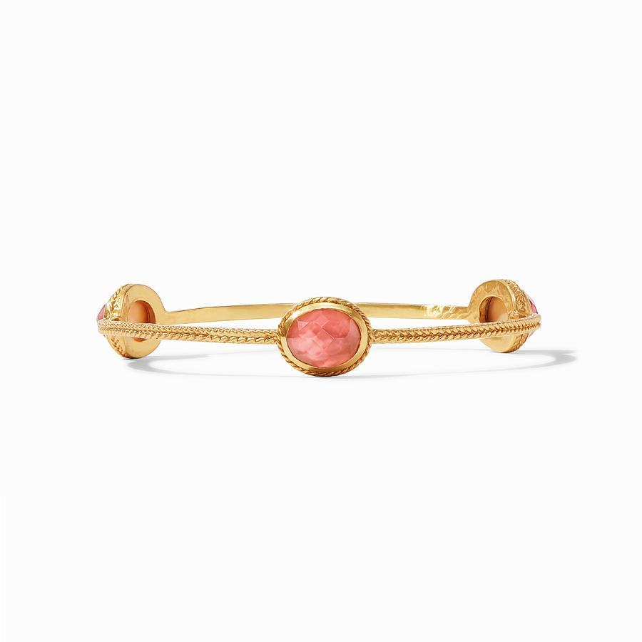 Julie Vos - Calypso Bangle Iridescent Rouge