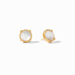 Julie Vos, Accessories - Jewelry,  Julie Vos - Honey Stud Iridescent Clear Crystal