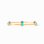 Julie Vos, Accessories - Jewelry,  Julie Vos - Milano Bangle Turquoise Blue