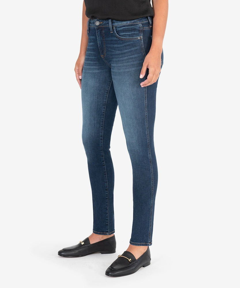 KUT from the Kloth, Women - Denim,  KUT from the Kloth | DIANA HIGH RISE FAB AB RELEASED FIT SKINNY (BUSY WASH)