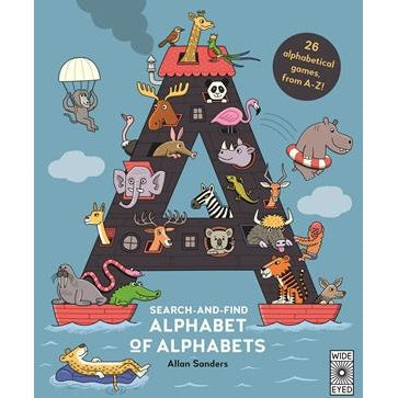 Search And Find Alphabet of Alphabets-Book-Eden Lifestyle-Eden Lifestyle
