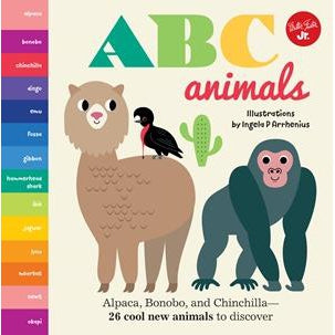 ABC Animals-Book-Eden Lifestyle-Eden Lifestyle