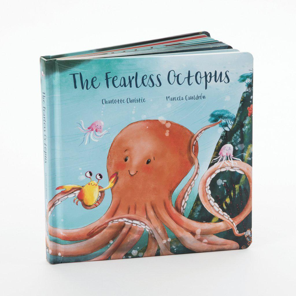 The Fearless Octopus | Jellycat-Book-Jellycat-Eden Lifestyle