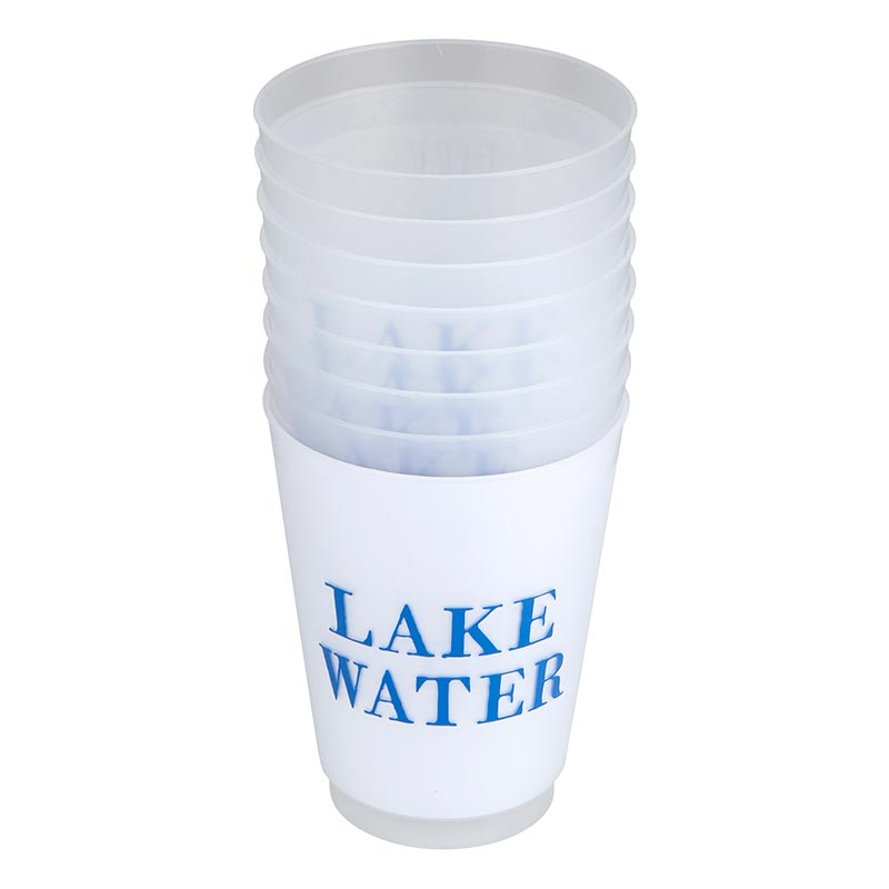 Lake Water Frosted Cup Set - Eden Lifestyle
