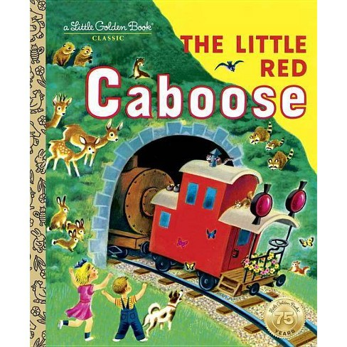 Little Golden Books - Little Red Caboose