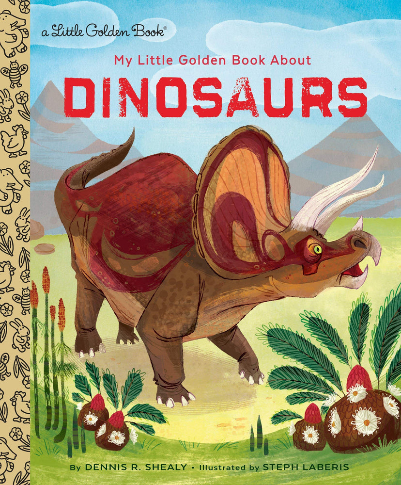 Little Golden Books, Books,  Little Golden Books - Dinosaurs