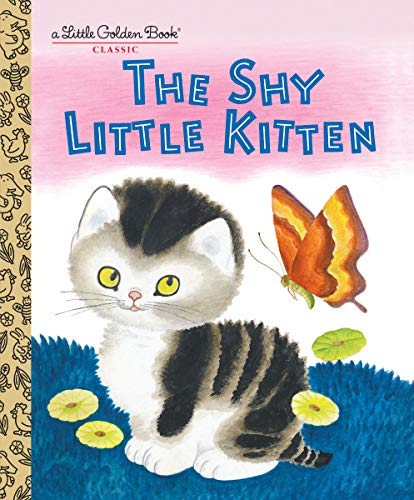 Little Golden Books, Books,  Little Golden Books -  Shy Little Kitten