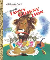 Little Golden Books, Books,  Little Golden Books - Tawny Scrawny Tiger