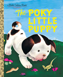 Little Golden Books - The Poky Little Puppy