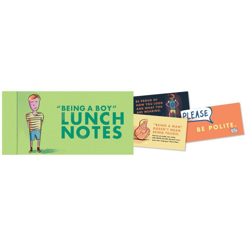 Lunch Notes for Boys-Books-Eden Lifestyle-Eden Lifestyle