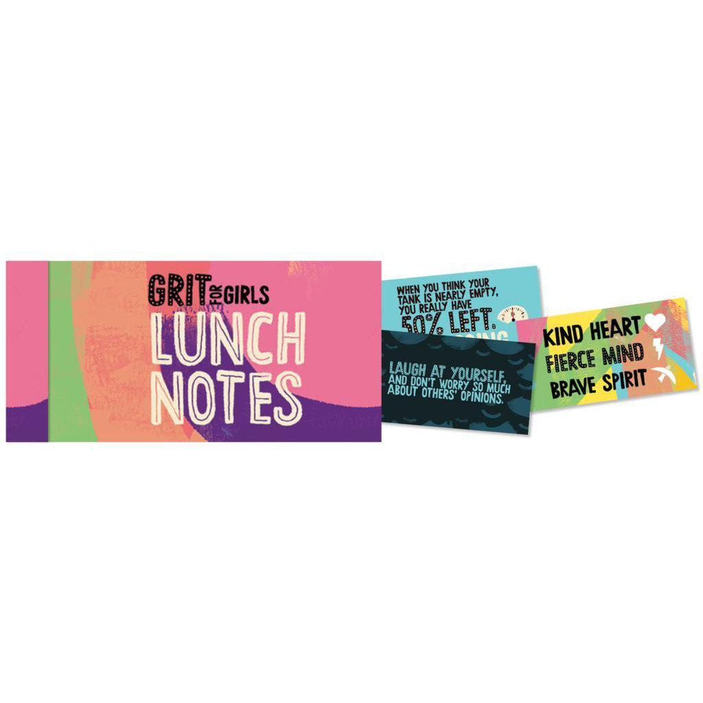 Grit for Girls Lunch Notes-Book-Eden Lifestyle-Eden Lifestyle
