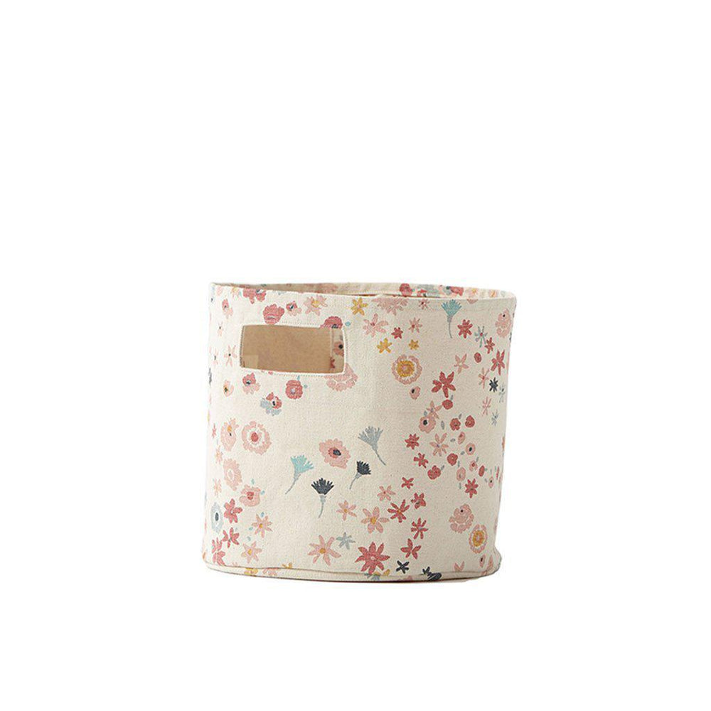 Meadow Print Pint Bin-Baby - Nursery Organization-Pehr-Eden Lifestyle