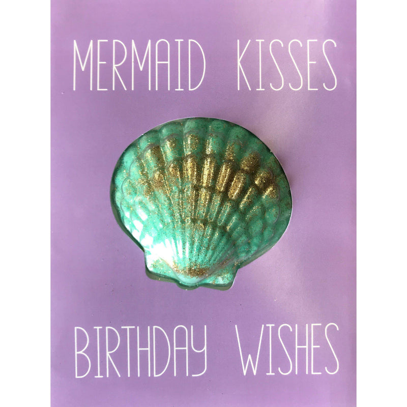 Mermaid Wishes Bath Fizz Card