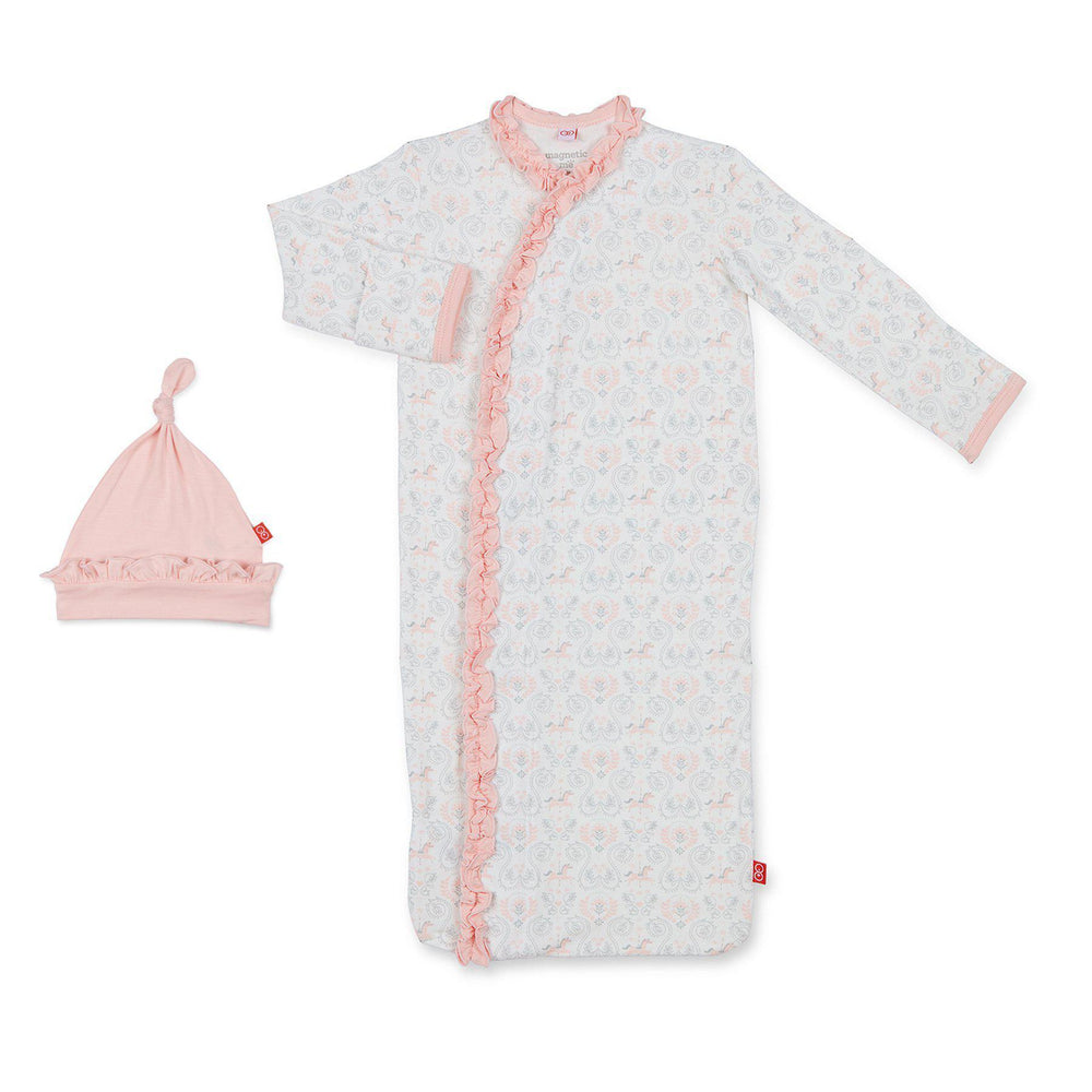 Magnetic Me by Magnificent Baby Carousel Modal Magnetic Sack Gown Set - Eden Lifestyle