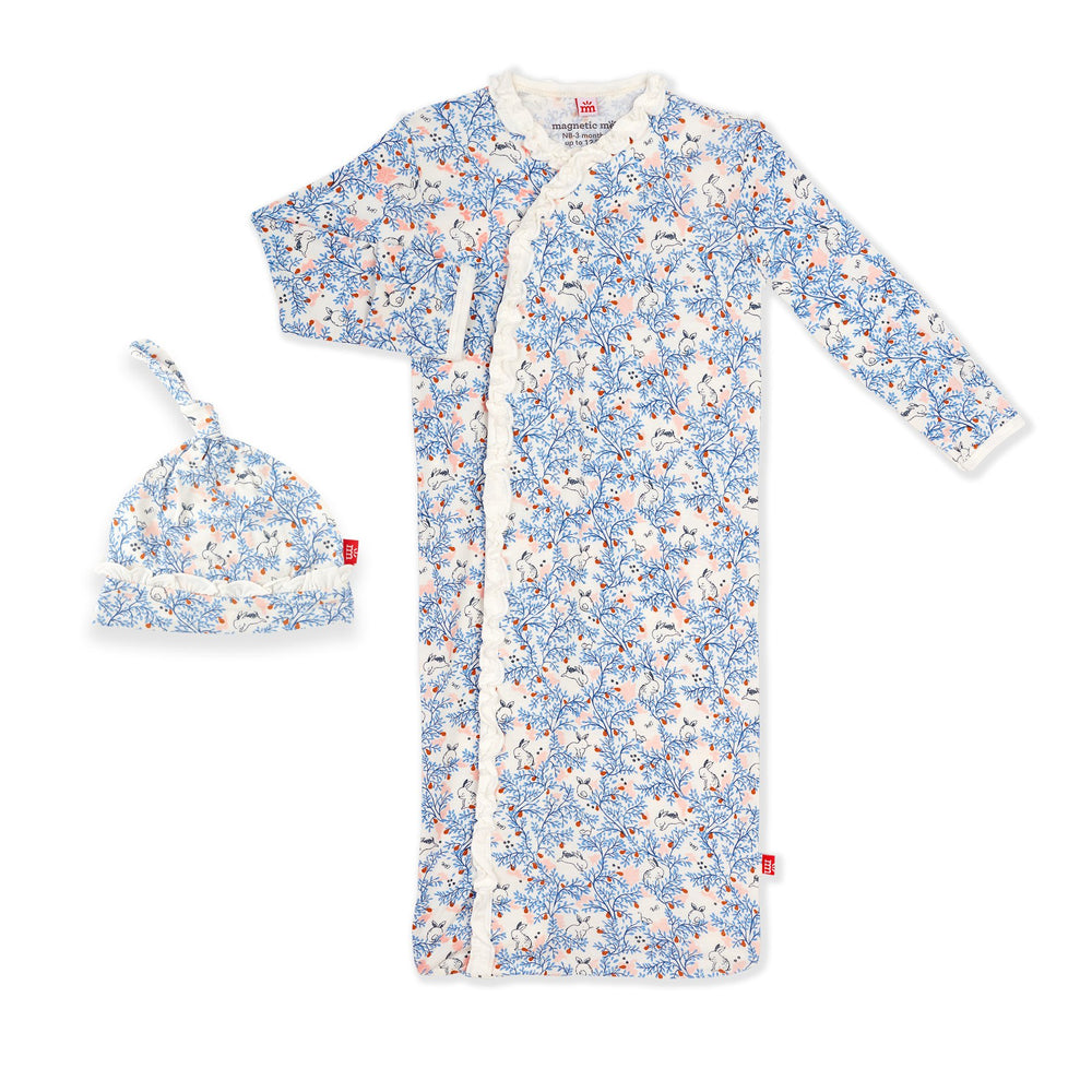 Magnetic Me by Magnificent Baby Somebunny Modal Magnetic Sack Gown Set - Eden Lifestyle