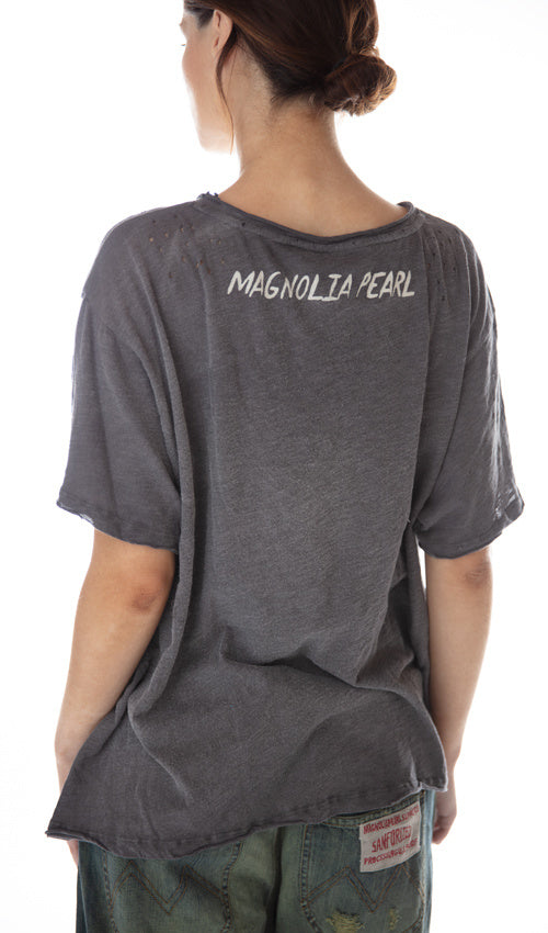 Magnolia Pearl Cotton Jersey Sliver Of Moonlight T, New Boyfriend Cut