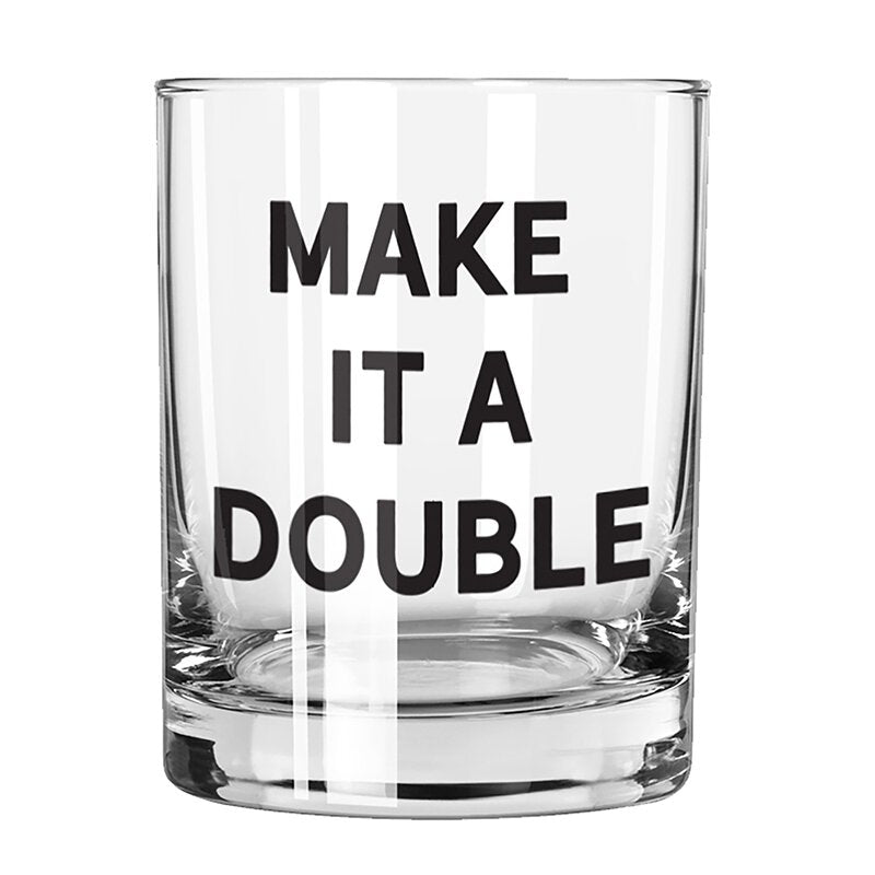 Make it a Double Rocks Glass - Eden Lifestyle