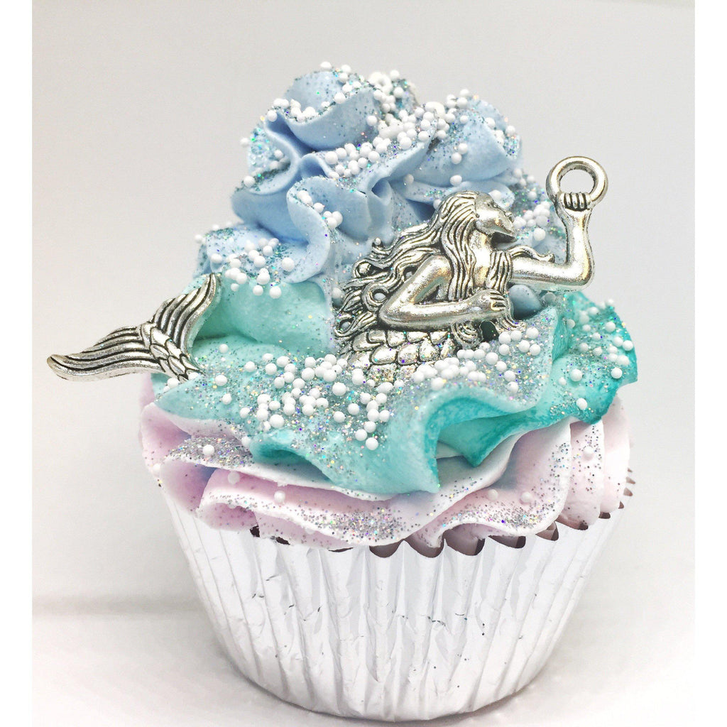Large Cupcake Gifts - Bath Bombs-Gifts - Bath Bombs-Eden Lifestyle-Mermaid-Eden Lifestyle