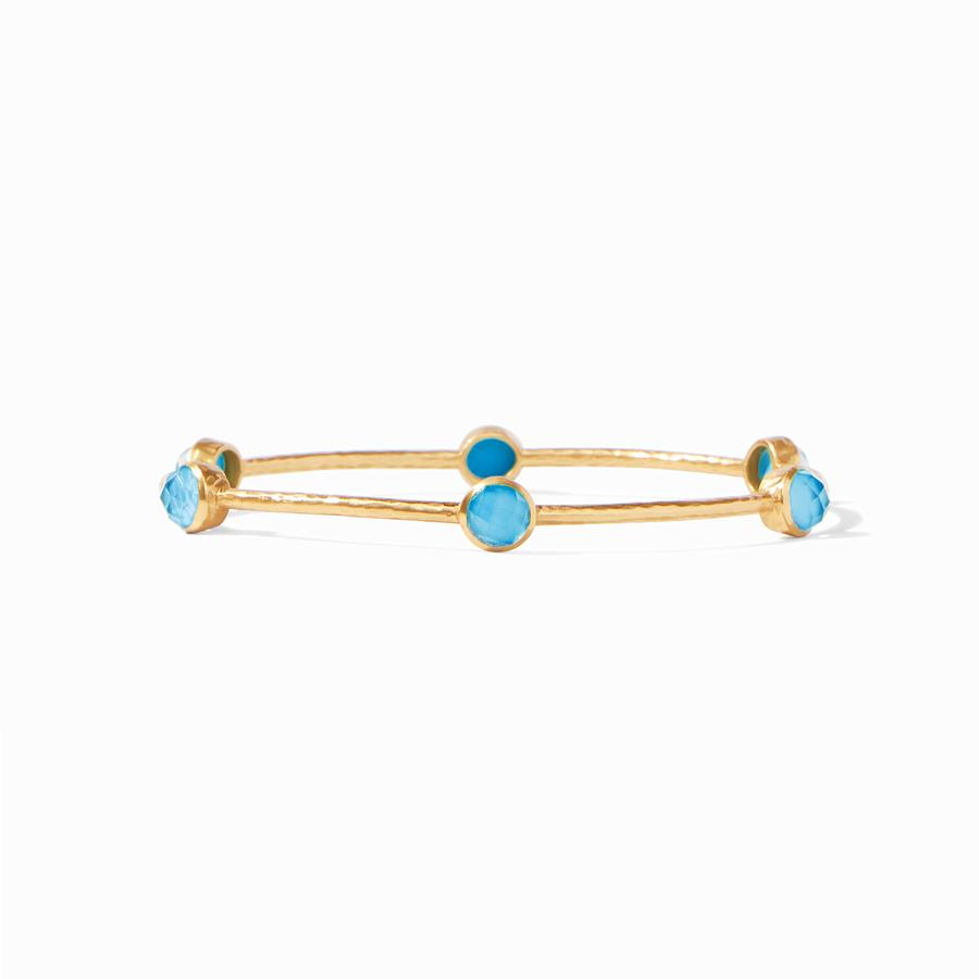 Julie Vos - Milano Luxe Bangle Pacific Blue