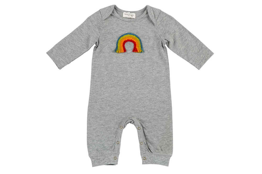 Mimi & Maggie, Baby Girl Apparel - Rompers,  Mimi & Maggie Handcraft Rainbow
